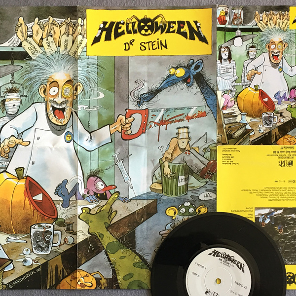 Dr Stein single - with promo poster - 1988