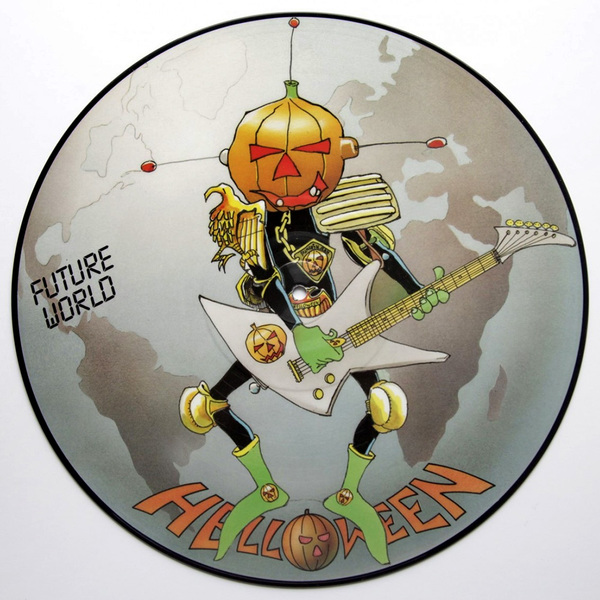 Picture Disc Future World - 1987